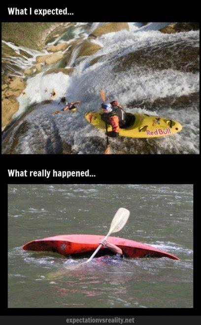 Kayaking Memes - aspettative vs realt 224 l irresistibile ironia dei meme sul