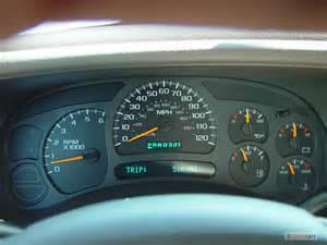 2004 Chevrolet Silverado Instrument Cluster Recall Instrument Cluster Problem 2004 Chevy Truck Autos Weblog