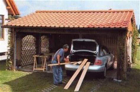 carport genehmigungsfrei carport garage