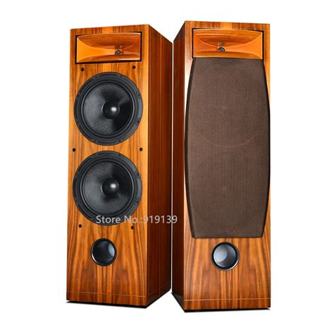 top quality home theater system wooden main speaker floor