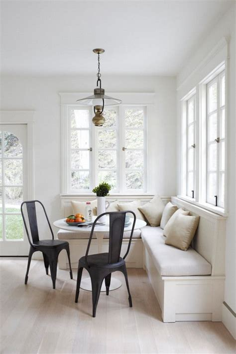 Banquette Breakfast Nook by A Banquette Great Solution For Small Spaces Besa Gm