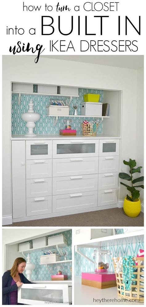 home design hacks 2018 decor hacks ikea hack how to turn a standard closet into a built in for craft storage using