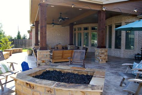 custom patios features by custom patios rustic patio