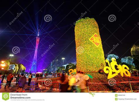 new year 2016 show 2016 new year lighting show in guangzhou huacheng