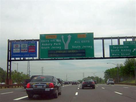 garden state parkway signs highways and bridges
