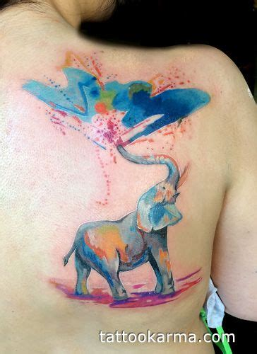 watercolor tattoos new york 25 best ideas about watercolor elephant tattoos on