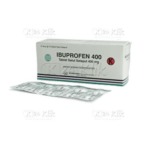 Obat Ibuprofen Tablet jual beli ibuprofen 400mg tab k24klik