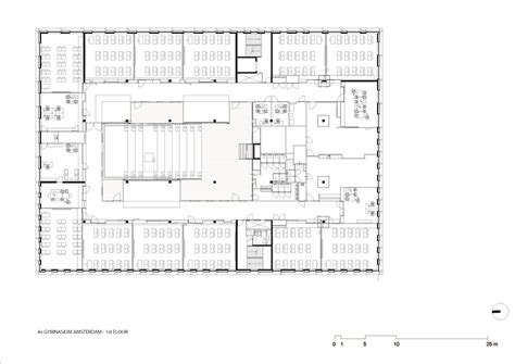 gymnasium floor plan gallery of the 4th gymnasium paul de ruiter architects 19