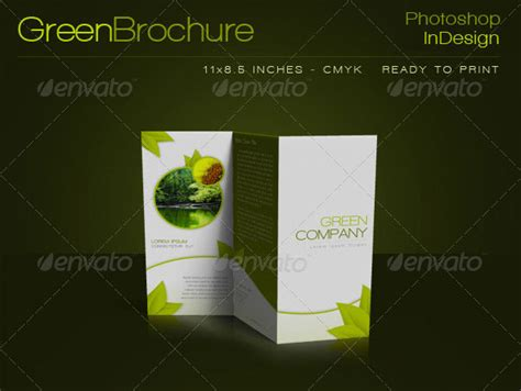 photoshop template brochure 14 creative 3 fold photoshop indesign brochure templates