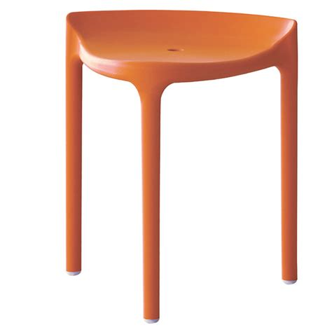 Tabouret Pedrali by Tabouret Happy 491 Pedrali Orange Cerise Sur La Deco