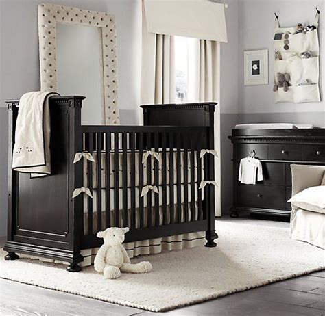 Grey Brown Crib by Best 25 Wood Nursery Ideas On Nursery