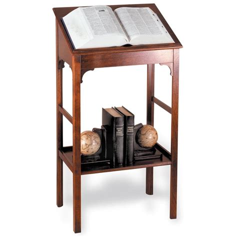 Home And Interior Gifts Mahogany Dictionary Stand Other Small Furniture
