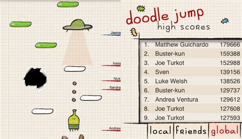 doodle jump cheats and glitches doodle jump for iphone