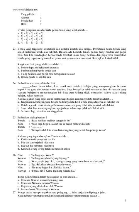 soal soal ips kelas 6 ujian sekolah latihan soal ujian kls 6 latihan ujian sekolah dan kunci