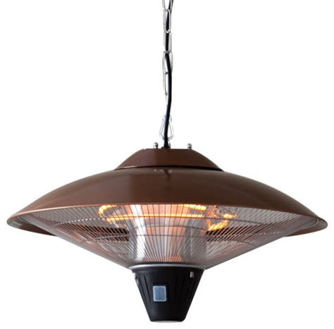 Sense Hanging Halogen Patio Heater by Sense 60660 Hanging Copper Finish Halogen Patio