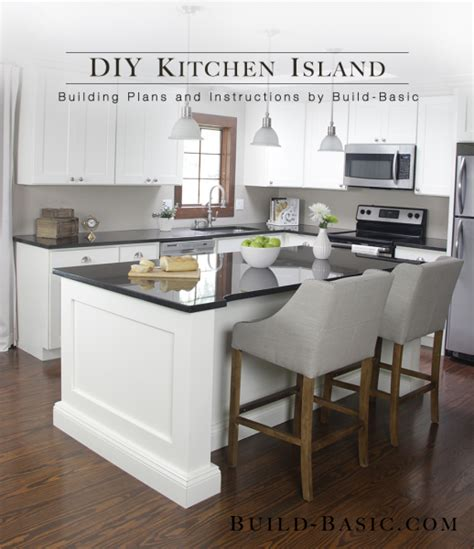 easy kitchen island plans 12 diy kitchen island designs ideas home and gardening