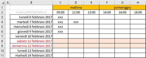 Creare Un Calendario Creare Un Calendario Personalizzato Con Excel Come