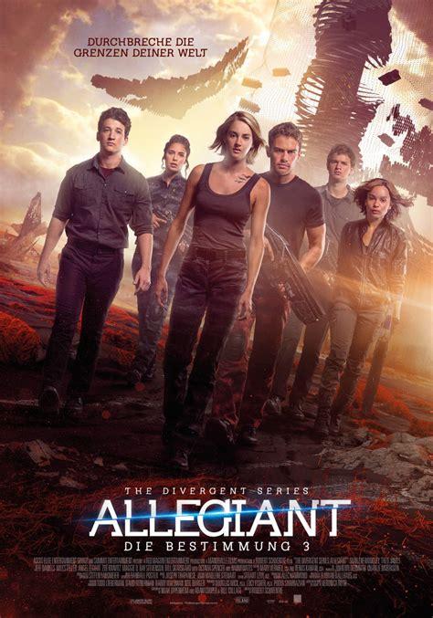 libro leal divergent trilogy allegiant film the divergent series allegiant cineman