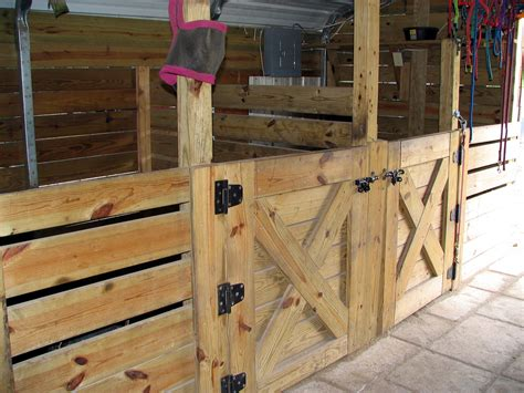 how to stall barn plans on stalls barns and hay feeder