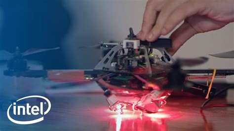 intel drone light show the making of drone 100 intel youtube