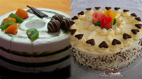 como decorar pasteles de tres leches tortas decoradas con crema c 243 mo decorar pasteles con crema