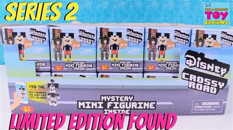 Disney Mini Figur Crossy Road disney series 2 crossy road mini figures limited edition blind box figures review