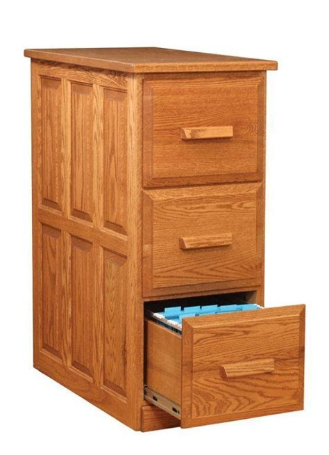 amish traditional  drawer vertical file cabinet
