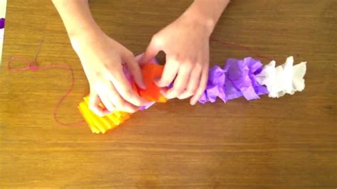 How To Make Hawaiian Flowers Out Of Paper - crepe paper hawaiian