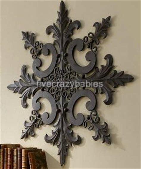 Outdoor Wall Decor Large by Large Horchow Outdoor Ornate Wall Medallion Decor