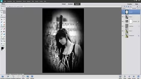 photoshop cs3 vignette tutorial photoshop elements tutorial german vignette erstellen