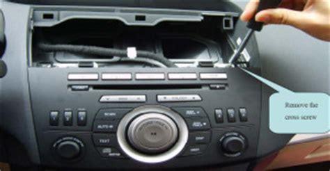 mazda 3 audio upgrade install mazda 3 gps unit for 2010 2011 2012 2013