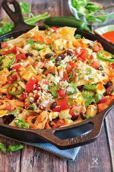 loaded buffalo chicken nachos recipe dips appetizers  party foods buffalo chicken