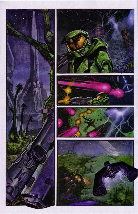 Komik Marvel Halo Graphic Novel the halo graphic novel preview