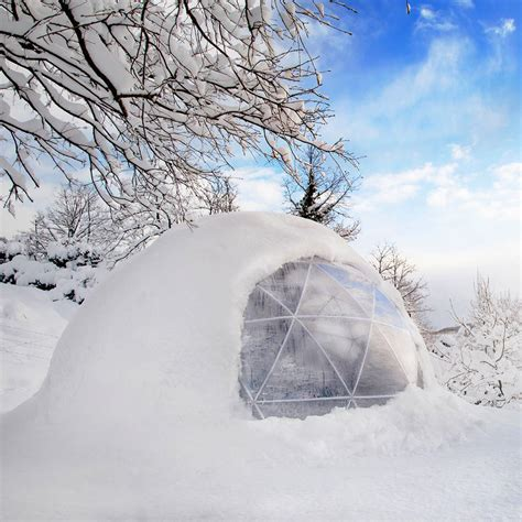 Garden Igloo 360 by Garden Igloo 360 Dome With Optional Canopy Cover By