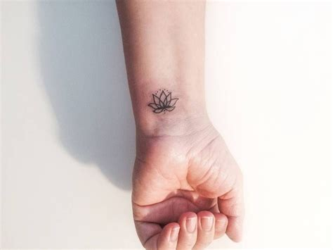 left wrist tattoo meaning lotus flower on the left wrist tattoos