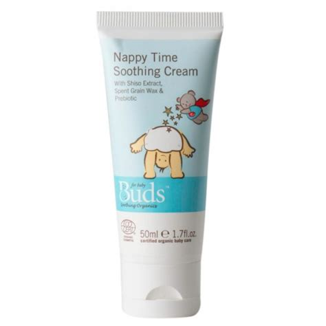 buds organic nappy time soothing 50ml nappy rash