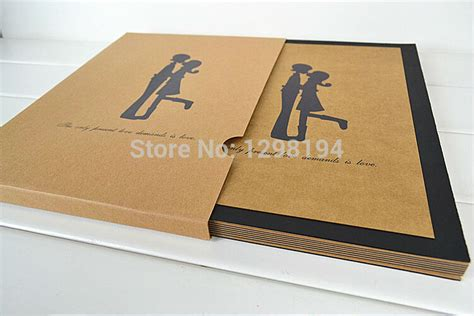 Personalised Handmade Photo Albums - free ship 10 inch diy photo album scrapbook handmade paper