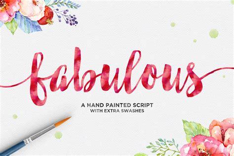 9 Fabulous In by Fabulous Script By Dhan Studio Thehungryjpeg