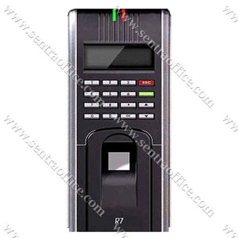 Mesin Absensi Sidik Jari Time Tech T66 jual mesin absensi sidik jari icon r7 murah sentra office