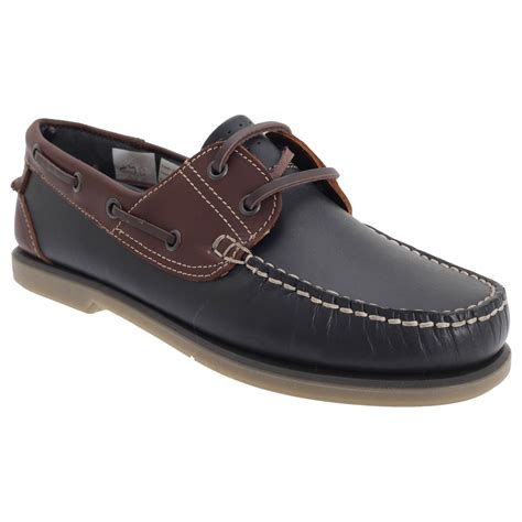 mens leather slip on sneakers dek mens casual leather fashion moccasin boat slip on