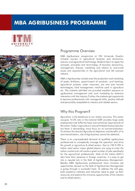 Mba Itm by 2014 2015 Itm School Of Business Brochure