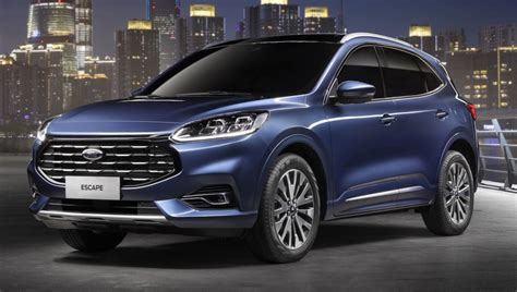 Ford After 2020 by 2020 Ford Escape For China Kuga Gets Grille