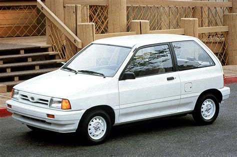 how to work on cars 1990 ford festiva on board diagnostic system 1990 93 ford festiva consumer guide auto