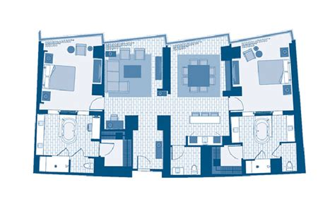 aria las vegas floor plan vdara 2 bedroom hospitality suite floor plan bedroom