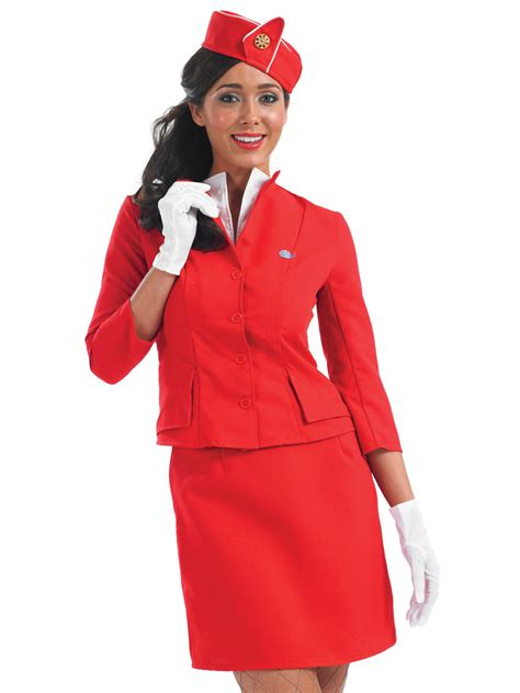 How To Dress For Cabin Crew by Cabin Crew Costume Fs3091 Fancy Dress