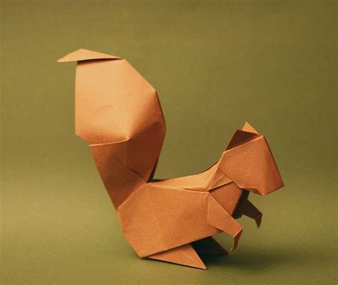Squirrel Origami - squirrel origami and on this board we squirrel