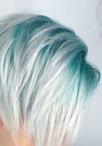 colored roots 25 best ideas about teal hair dye on teal