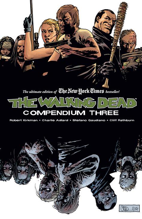 the walking dead compendium 3 arte da capa e data de