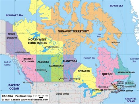 canadian map political political canada map