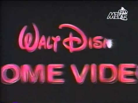 1986 walt disney home video logo aka youtube walt disney home video 1994 logo youtube